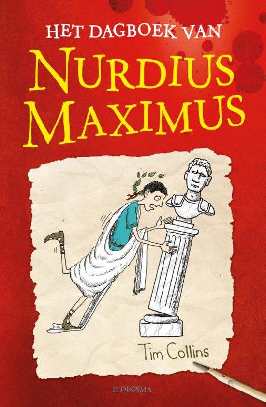 cover van het dagboek van Nurdis Maximus